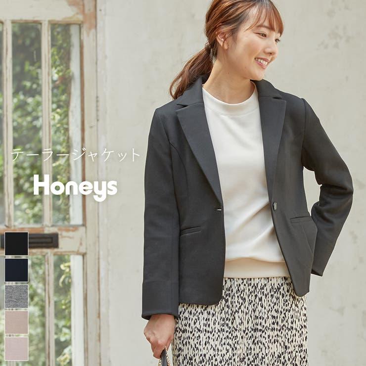 ジャケット テーラージャケット 長袖 | Honeys | 詳細画像1