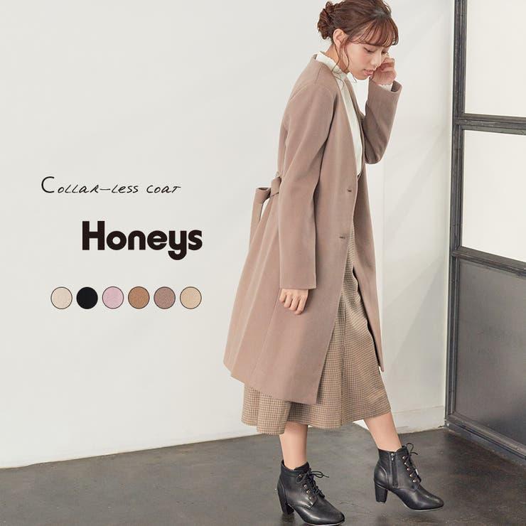 【ハニーズ】カラーレスコート | Honeys | 詳細画像1