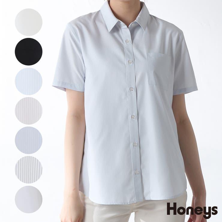 トップス シャツ レギュラーシャツ | Honeys | 詳細画像1