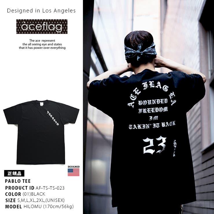 Tシャツ エースフラッグ ACEFLAG | 本格派大人のB系  | 詳細画像1