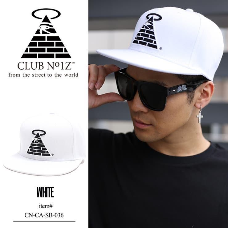 キャップ【CN-CA-SB-036】 クラブノイズ CLUB NO1Z CAP 帽子 スナップバック ブランドロゴ ピラミッド 白3D刺繍 世界地図プリントシンプル 正規品 b系 ヒップホップ ストリート系 ファッション メンズ レディース