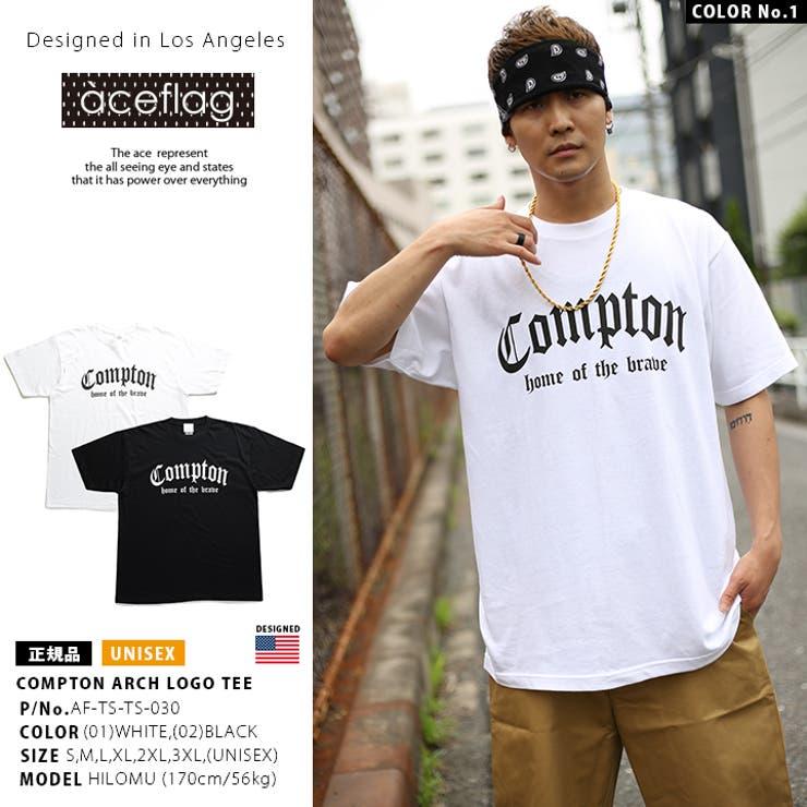 Tシャツ 半袖 Compton | 本格派大人のB系  | 詳細画像1