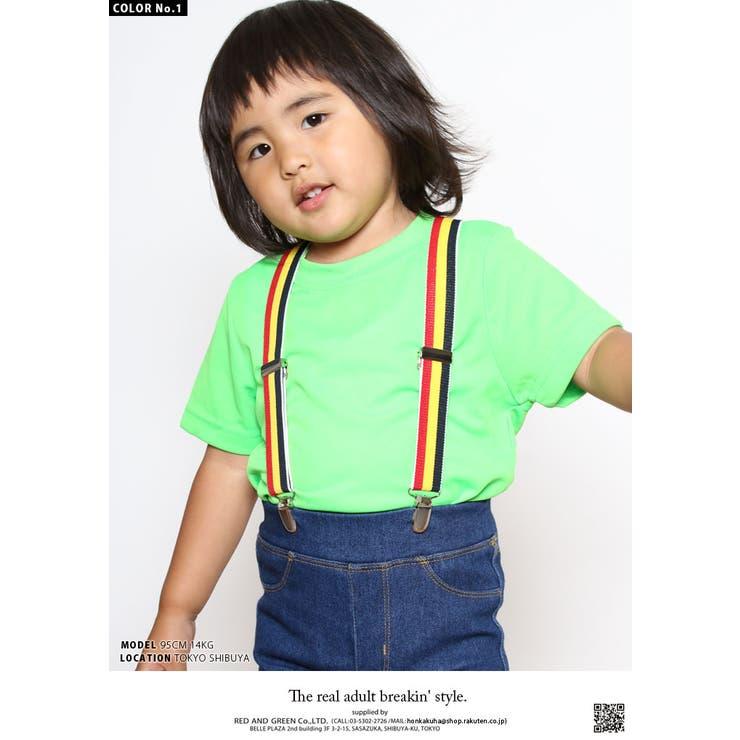 サスペンダー キッズサイズ 1歳から5歳   本格派大人のB系   詳細画像1