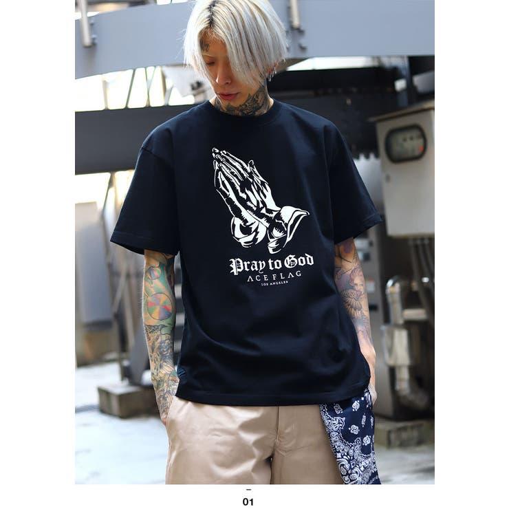 ACEFLAG(エースフラッグ)のTシャツ(バロック)   詳細画像