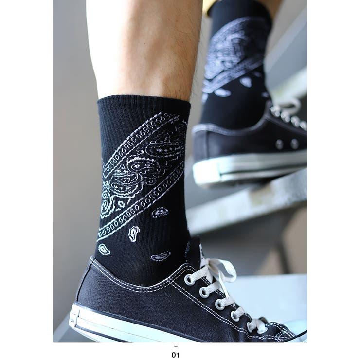 バンダナ靴下ACE FLAG エースフラッグ | 本格派大人のB系  | 詳細画像1