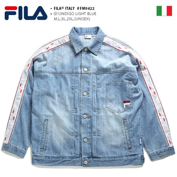 デニムジャケットフィラ FILA デニムジャケット | 本格派大人のB系  | 詳細画像1