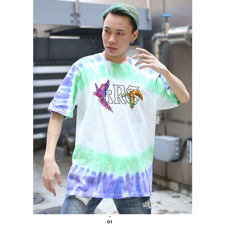 LRG(エルアールジー)のTシャツ(タイダイ染め総柄)   詳細画像