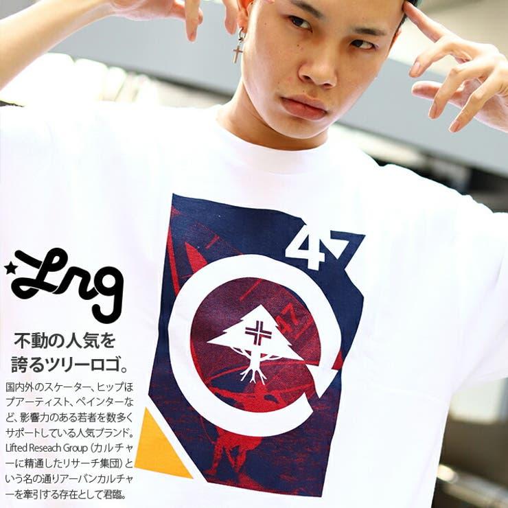 LRG(エルアールジー)のTシャツ(BOXロゴ) | 詳細画像