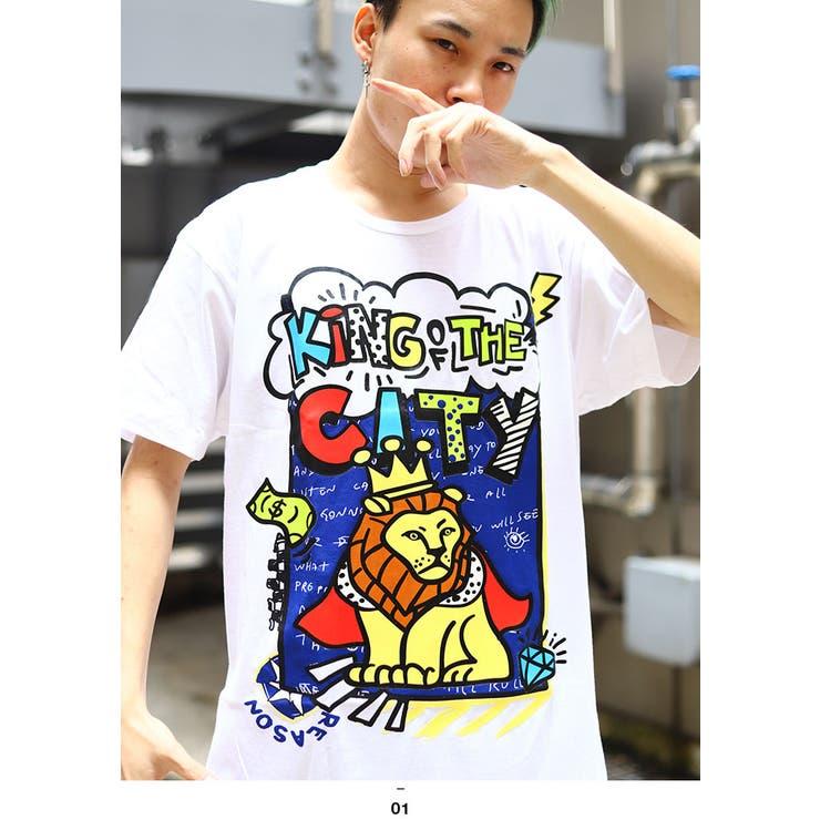 REASON(リーズン)のTシャツ(アニマル)   詳細画像
