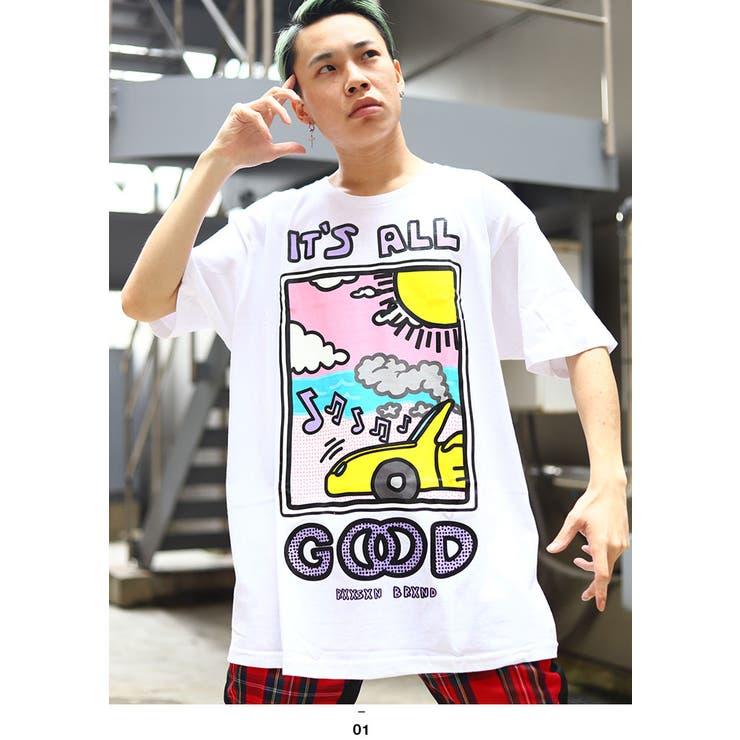 REASON(リーズン)のTシャツ(ポップアート) | 詳細画像