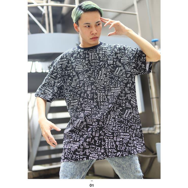 TシャツREASON Tシャツ 半袖   本格派大人のB系    詳細画像1