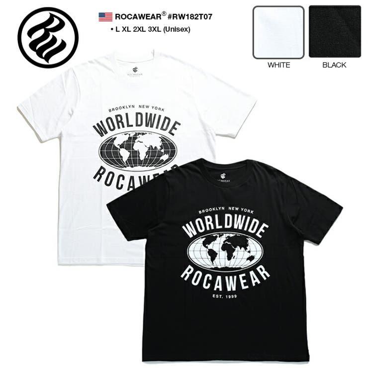 TシャツROCAWEAR 半袖 メンズ | 本格派大人のB系  | 詳細画像1