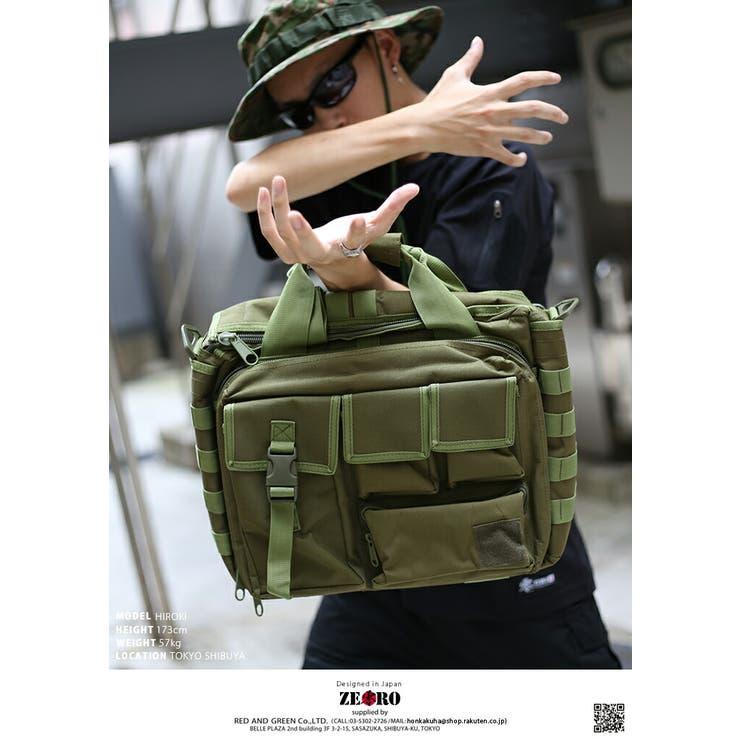 ショルダーバッグミリタリー バッグ ブリーフケース | 本格派大人のB系  | 詳細画像1