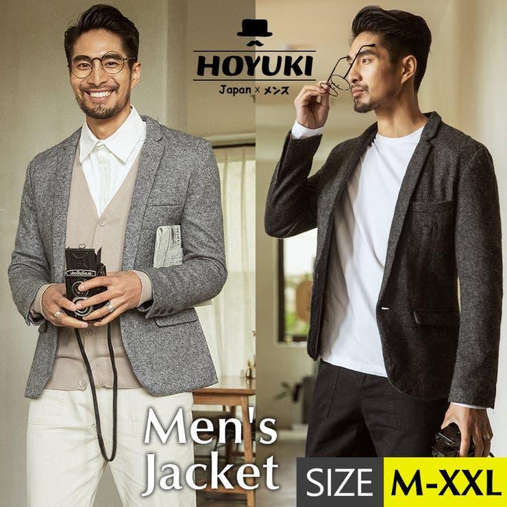 正規品 メンズ ジャケット | HOYUKI MEN | 詳細画像1