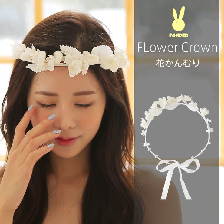 花かんむり 小花 ヘアアクセサリー   HOYUKI   詳細画像1