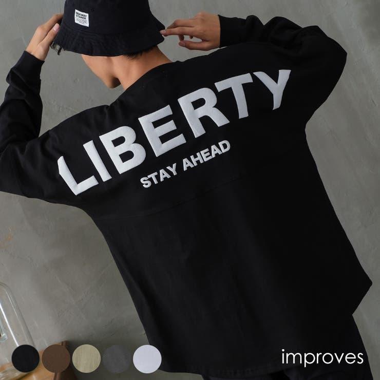 Tシャツ メンズ 長袖Tシャツ | improves | 詳細画像1