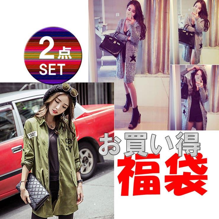 福袋 レディースファッション通販【cresta】【HAPPY BAG】2点セット福袋