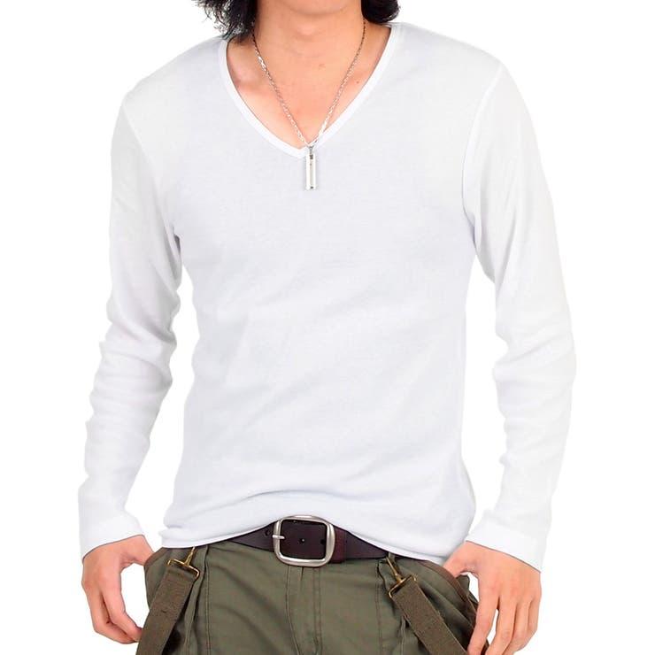 キレイめ/キレイ目/フライス/無地/Vネック/ロングTシャツ/長袖Tシャツ/ロンT/ロング/トップス/メンズカジュアル/メンズ/通販/Men's【先行】【新作】/夏/Tシャツ/ロンT/夏物/ロングtシャツ/Tシャツ/ロング tシャツ/ロング丈/大きいサイズ