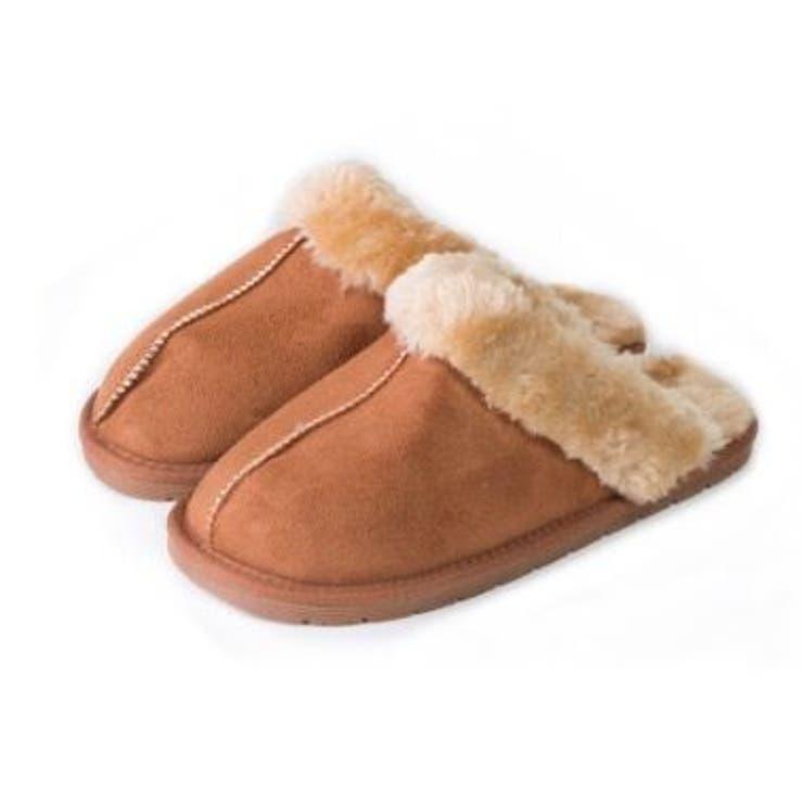 ムートンブーツ スリッパ 靴   JESSICA   詳細画像1