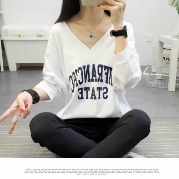 ロゴTシャツ 長袖 BIGサイズ | JESSICA | 詳細画像1