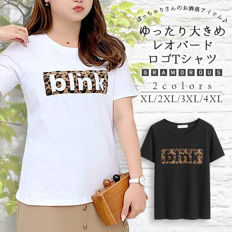 レオパードロゴT Tシャツ トップス   JESSICA   詳細画像1