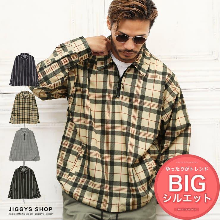 ◆先染めハーフZIPジャケット◆ | JIGGYS SHOP | 詳細画像1