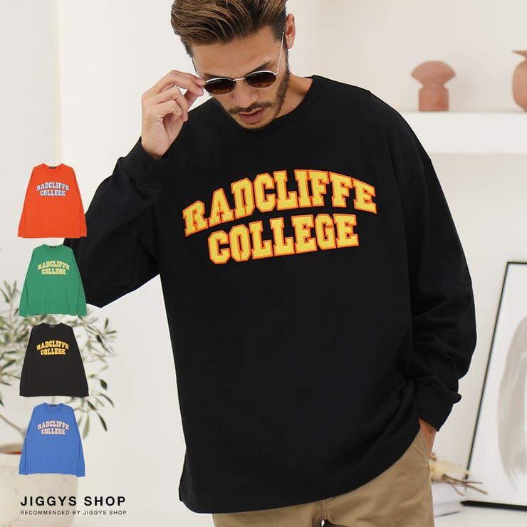 ◆天竺フェルト刺繍ロンT◆ロンT メンズ Tシャツ | JIGGYS SHOP | 詳細画像1
