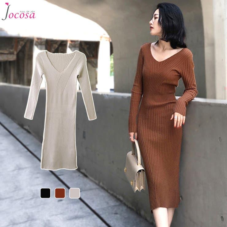 ワンピース ロング 韓国ファッション | JOCOSA | 詳細画像1