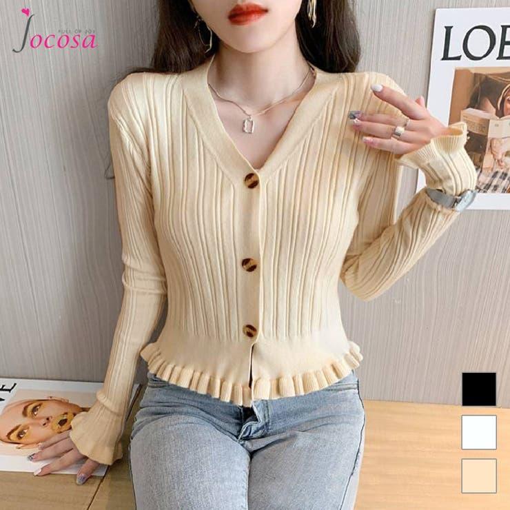 カーディガン 長袖 韓国ファッション | JOCOSA | 詳細画像1