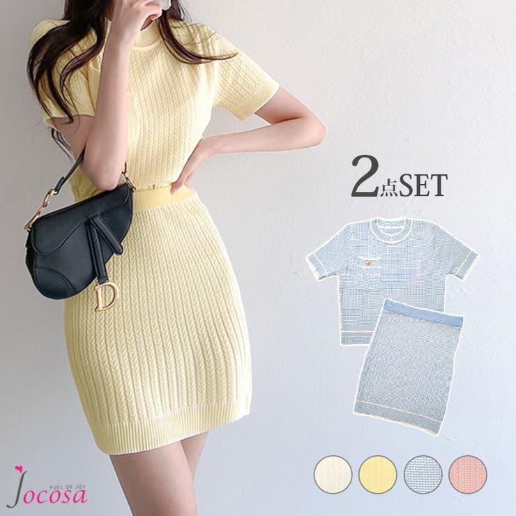 セットアップ スカート 半袖 | JOCOSA | 詳細画像1