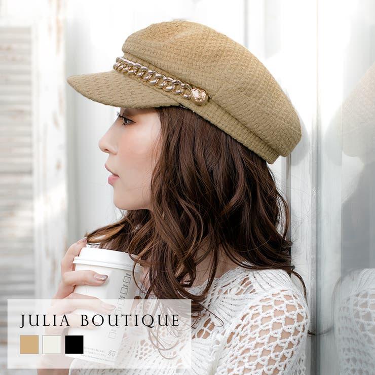 JULIA BOUTIQUEの帽子/キャスケット   詳細画像