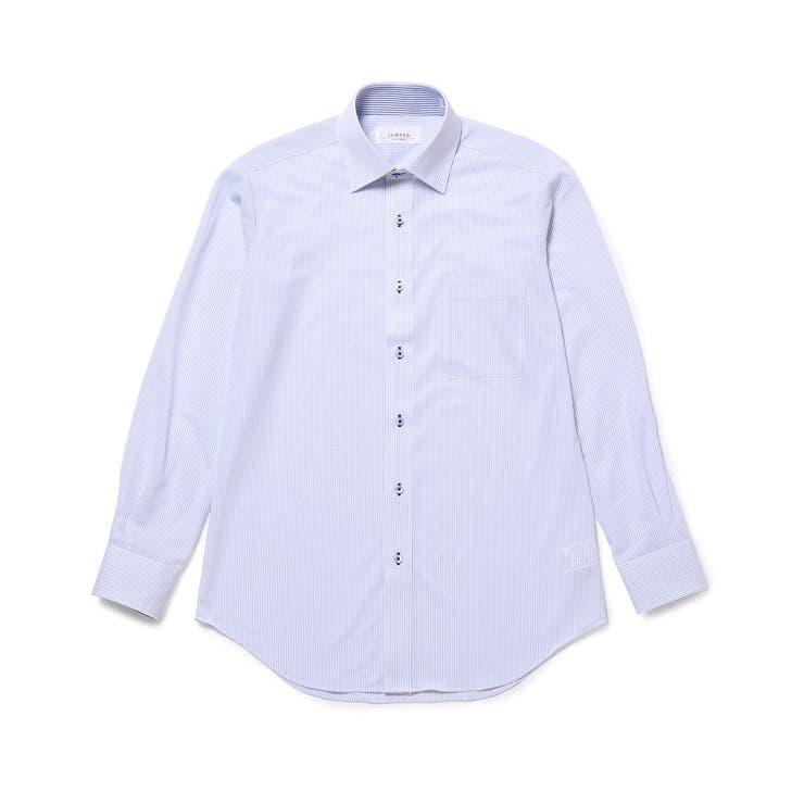 トリコットニットセミワイドドレスシャツ   JUNRed   詳細画像1