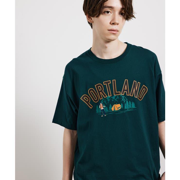 USAフロントカレッジTシャツ | JUNRed | 詳細画像1