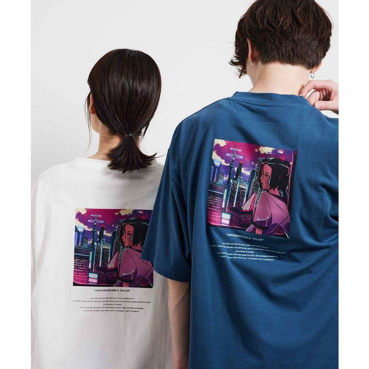【ファッションイラストレーター msy.】コラボルーズTシャツ   JUNRed   詳細画像1