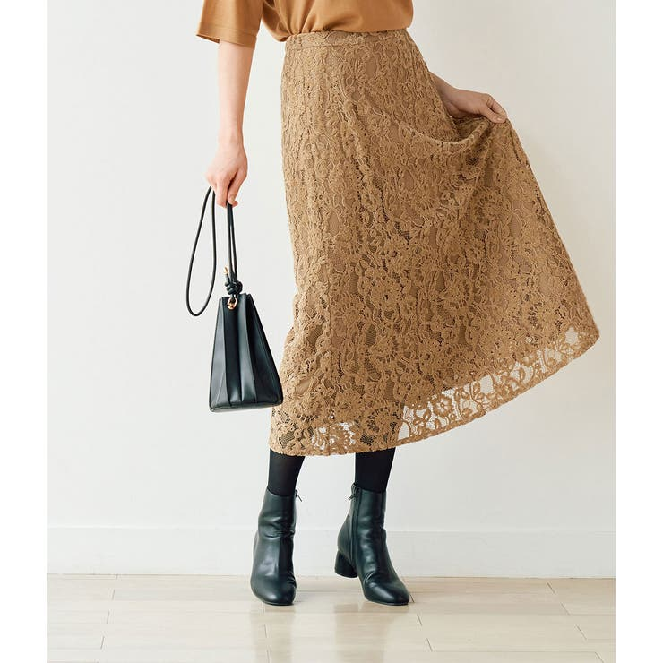 【emur】モールレースマーメイドスカート | ROPE' PICNIC | 詳細画像1