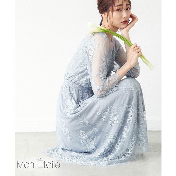 【Mon E'toile】【結婚式にも】レースDRESS | ROPE' PICNIC | 詳細画像1