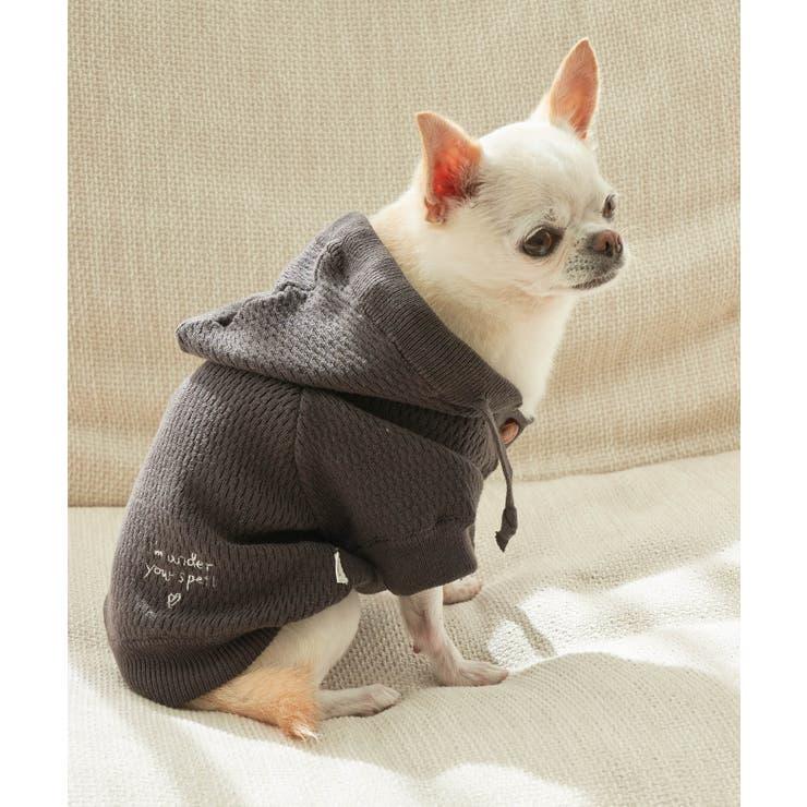 【DOG】オーガニックコットンサーマルフーディ   ROPE' PICNIC   詳細画像1