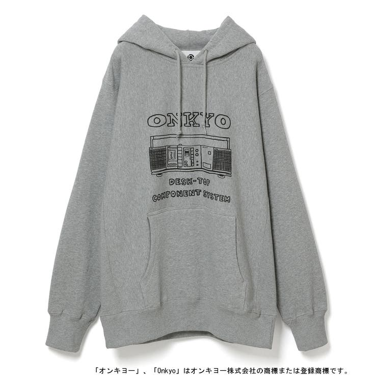 DESK-TOP COMPONENT SYSTEM HOODIE   ADAM ET ROPE' OUTLET   詳細画像1