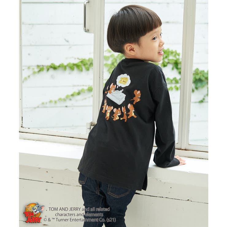 【KIDS】【TOM and JERRY】ロングTシャツ | ROPE' PICNIC | 詳細画像1