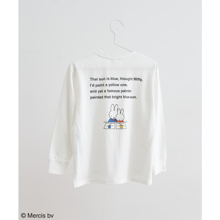 【KIDS】【miffy×ROPE' PICNIC】アソートロングTシャツ | ROPE' PICNIC | 詳細画像1
