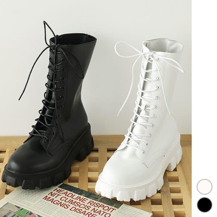 ヒール 5cm ブーツ   KawaiCat   詳細画像1