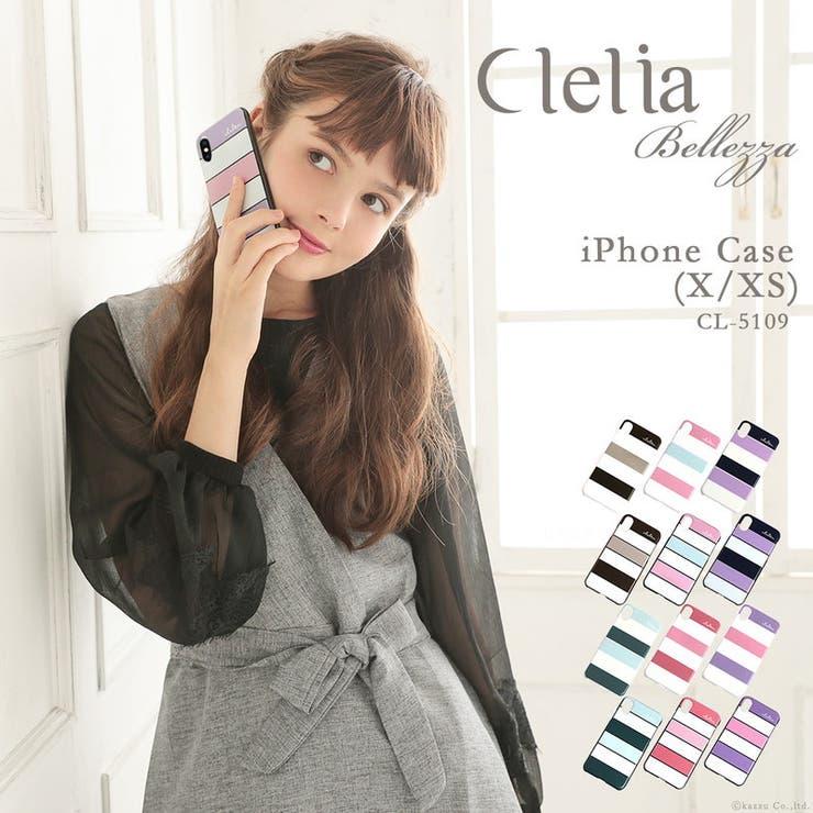 Clelia iPhoneケース iPhoneX | KAZZU | 詳細画像1