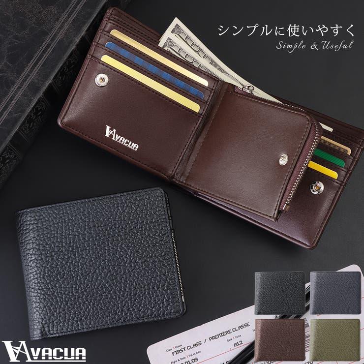 VACUA 折り財布 メンズ   KAZZU   詳細画像1