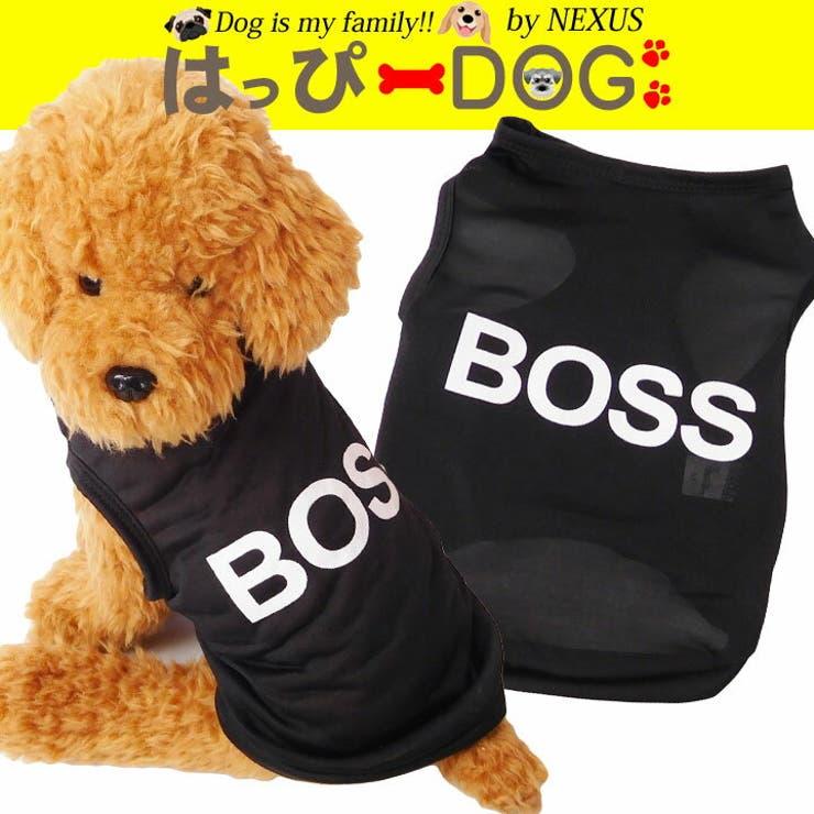 犬服犬の服ドッグウェア犬服タンクトップBOSS可愛いおしゃれ通販犬服洋服かわいい犬服お洒落ペット服ワンちゃん服 | 詳細画像