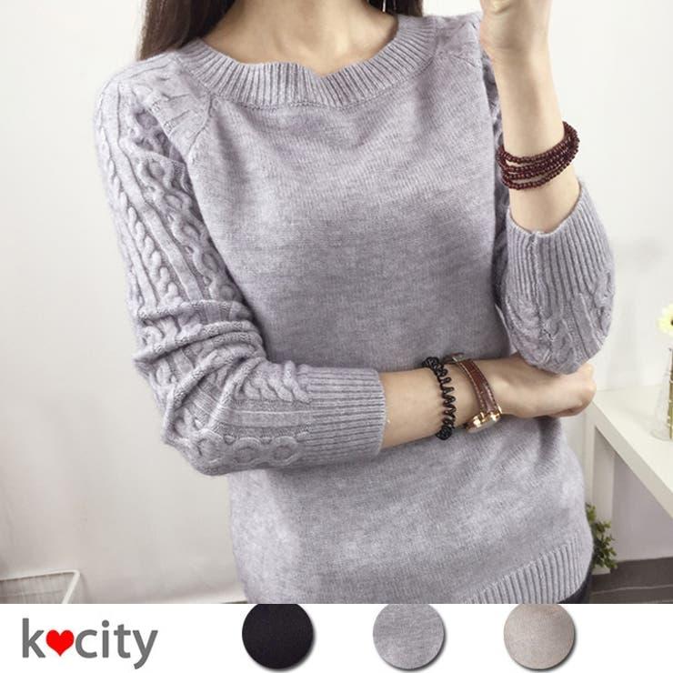 K-cityのトップス/ニット・セーター   詳細画像