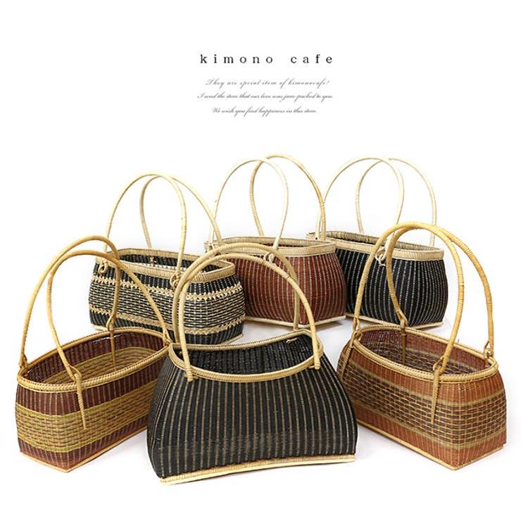 サンプル品&展示品のため! 高級竹かご 小   kimonocafe   詳細画像1