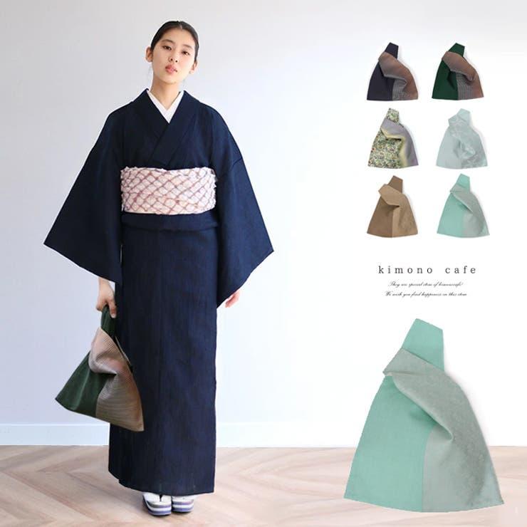 着物用 片手通しの手提げバッグ 浴衣 | kimonocafe | 詳細画像1