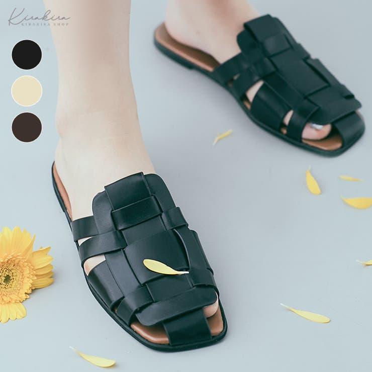 フラットグルカサンダル 5サイズ 靴   kirakiraShop    詳細画像1