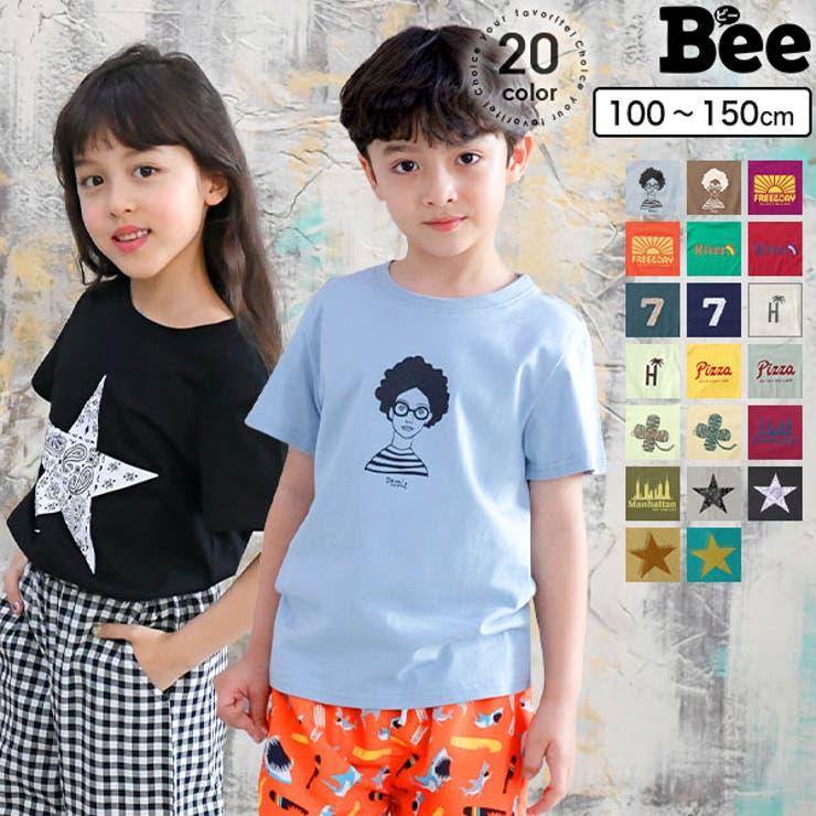 【韓国子供服】Teeシャツ半袖 | 詳細画像