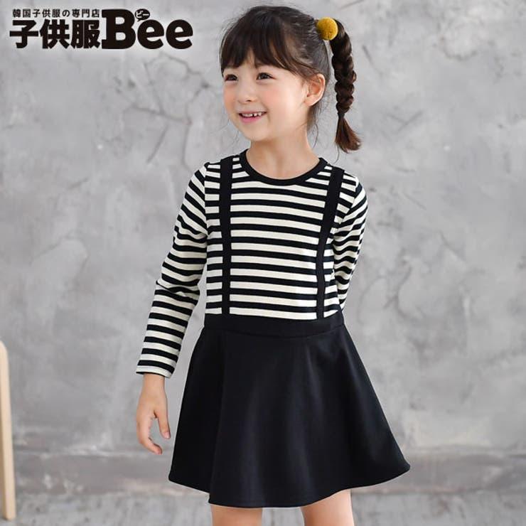 韓国子供服Bee 長袖ワンピース 女の子 | 子供服Bee | 詳細画像1